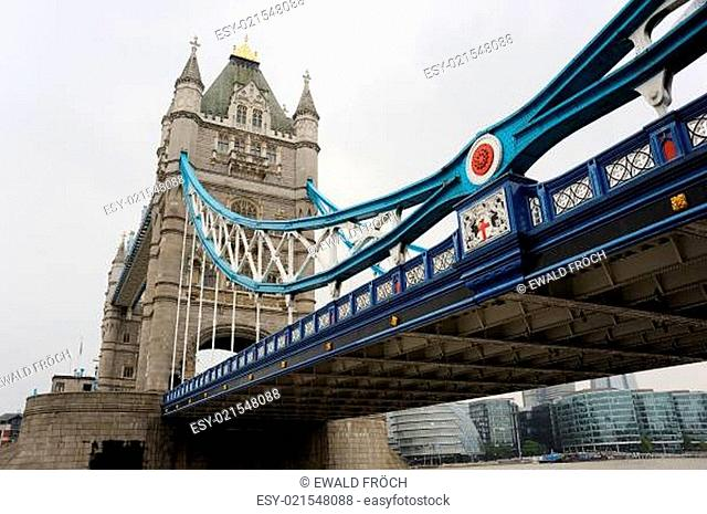 Tower Bridge und Southbank in London