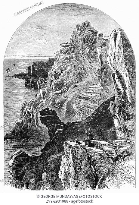 1870: Penolver Point or Pen Olver Point, Lizard Peninsula, Cornwall England. It was there that Marconi established a coastal site for his wireless experiment by...
