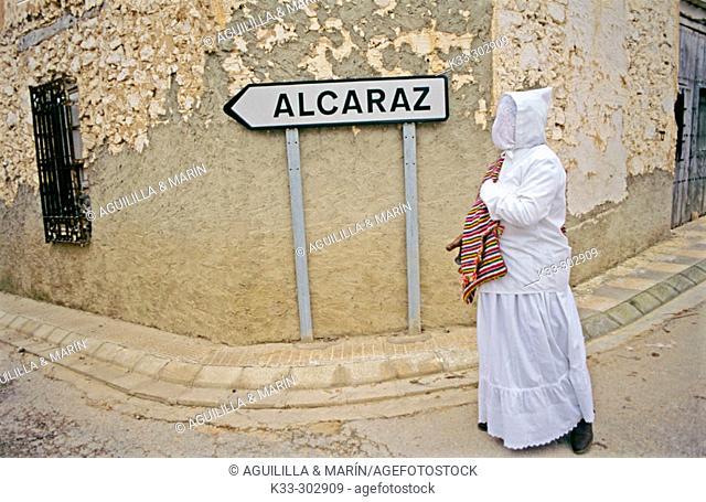El Blanco or Anima Blanca. El Ballestero. Albacete province. Castilla-La Mancha. Spain