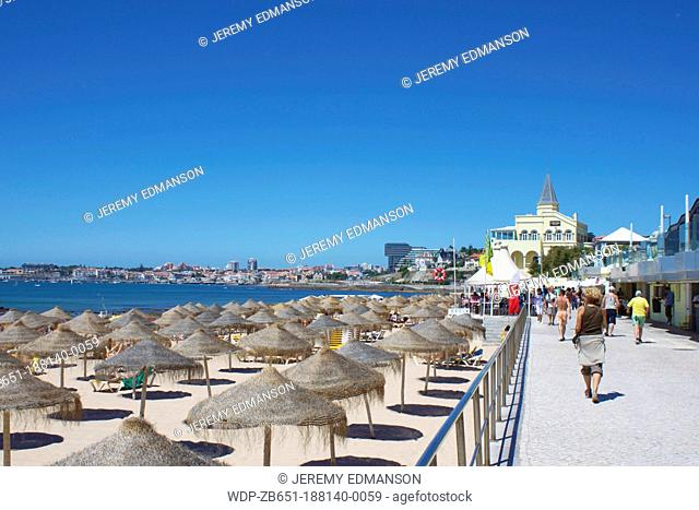 Beach, Estoril, Portugal