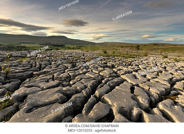 Souther Scales - View of Whernside - Yorkshire - UK