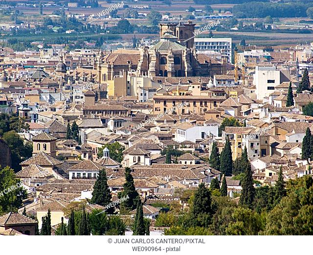 Views of Granada. Andalucia. España