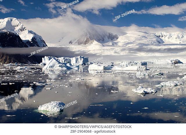 Antarctica, Antarctic Peninsula, Gerlache strait
