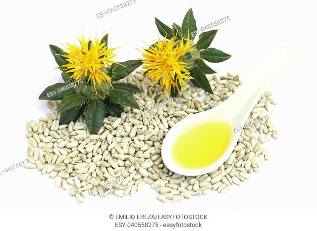 Safflower seeds and oil