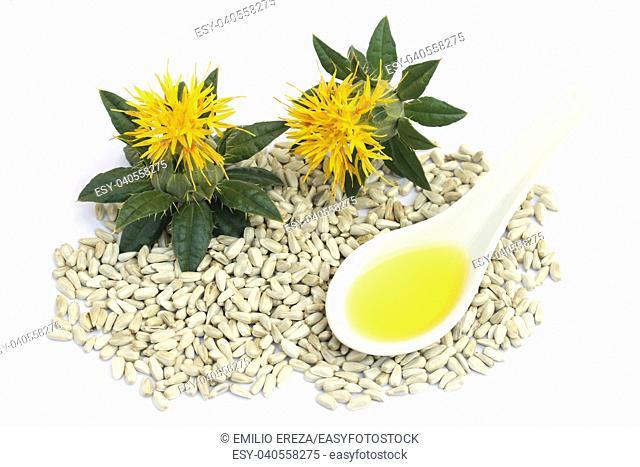 Safflower seeds and oil
