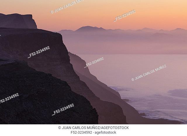 Riscos de Famara, Lanzarote Island, Canary Islands, Spain, Europe