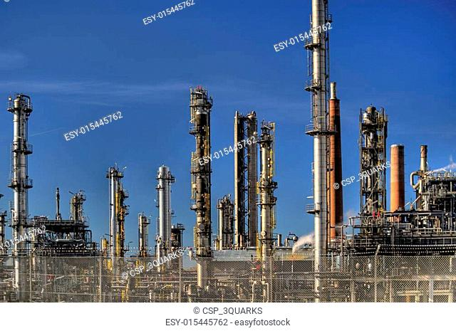 Oil Refinery in Germany