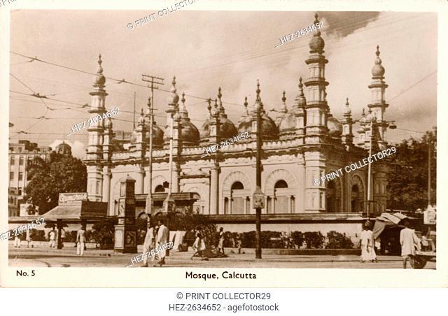 'Mosque - Calcutta', c1900. Artist: Unknown