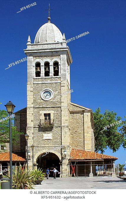 St Mary's church, Luanco, Asturias, Spain