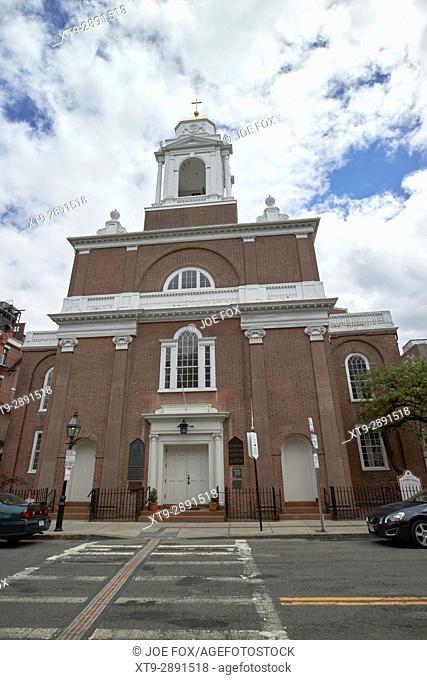 St stephens church formerly new north church Boston USA