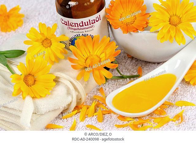Garden Marigold oil / Calendula officinalis
