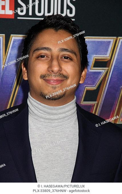 """Tony Revolori 04/22/2019 The world premiere of Marvel Studios' """"""""Avengers: Endgame"""""""" held at The Los Angeles Convention Center in Los Angeles, CA"""