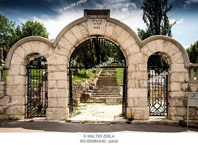 Old Jewish cemetery, Sarajevo, Bosnia and Herzegovina