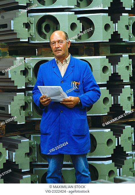 Foreman. Portrait - 01/01/2010