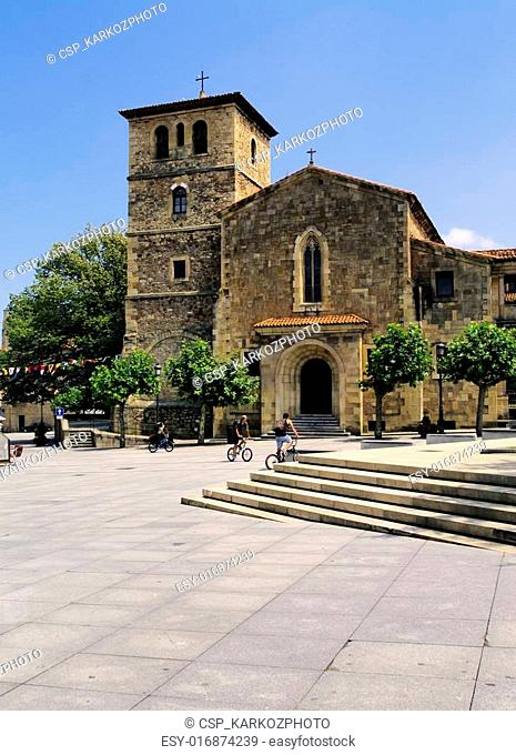 San Nicolas de Bari Church, Aviles, Spain