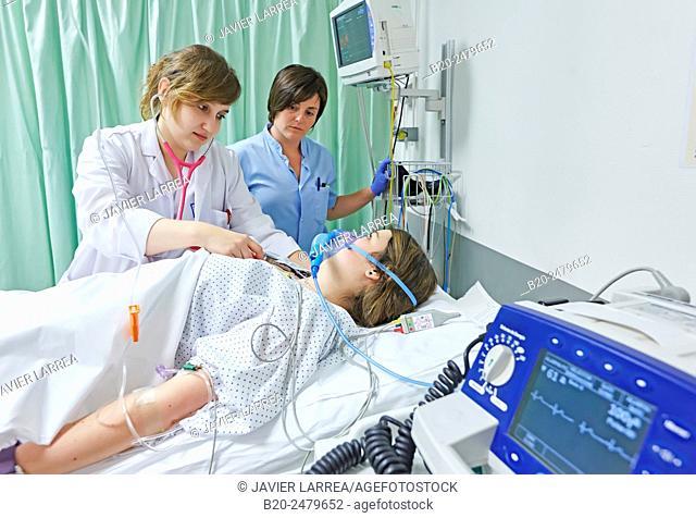 Emergency room, Hospital Donostia, San Sebastian, Gipuzkoa, Basque Country, Spain