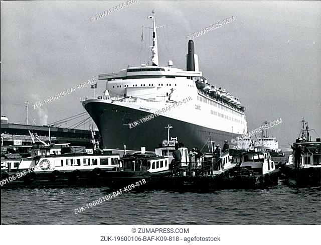 1968 - The QeII arrives in Yokkohama; The Elizabeth II arrived in Yokohama on Saturday for the second time in two years and attracted a large number of...