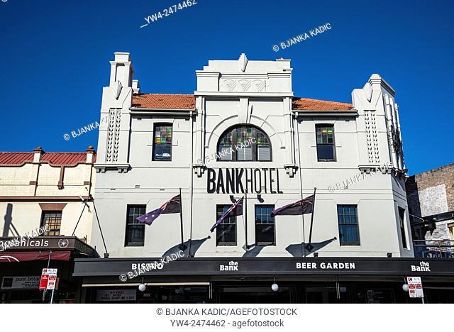 King Street, Newtown, Bank Hotel, Sydney, Australia