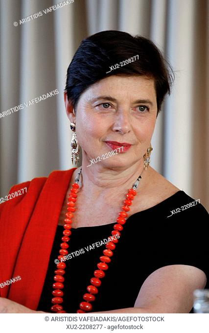 Actress ISABELLA ROSSELLINI presenting 'GREEN PORNO' during Athens and Epidaurus Festival 2014 in Athens