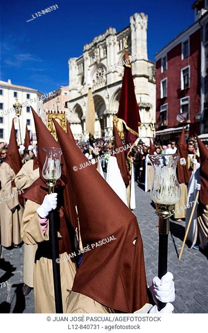 Cuenca Semana Santa Procesión de Viernes Santo Castilla la Mancha España