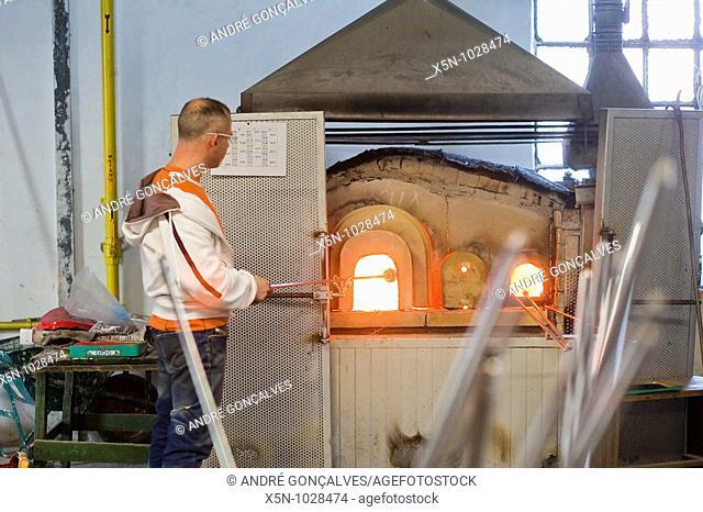 Murano Glass Workers, Murano Island, Venice, Italy