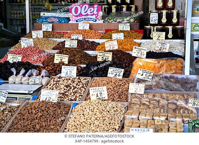 Central Market or Kentriki Agora, Athens Greece