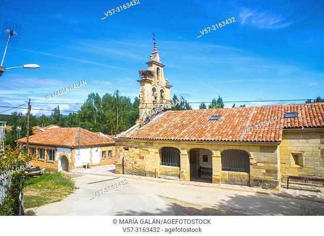 Church. Vado, Palencia province, Castilla Leon, Spain