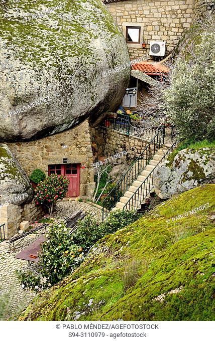 House between the rocks of Monsanto, Castelo Branco province, Portugal