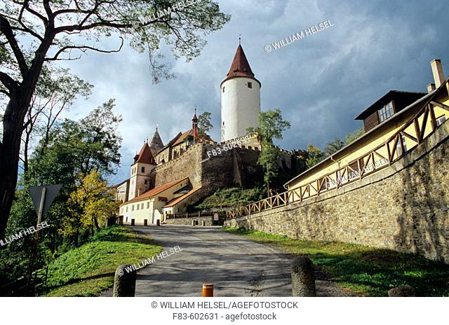 First built as a royal hunting lodge, Krivoklat was converted to a defensible castle at the beginning of the 12th century
