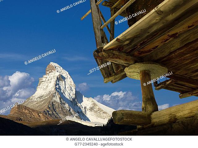 The Matterhorn, Canton Wallis, Switzerland