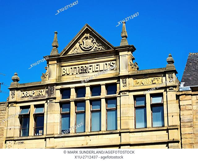 Former Butterfields Drapery Market Building now a Bar in Barnsley South Yorkshire England