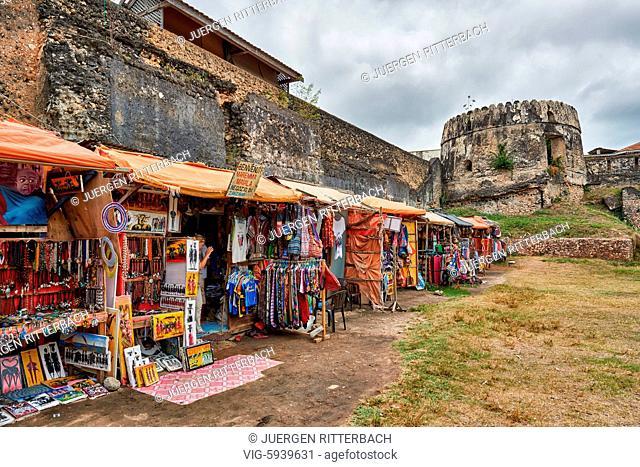 Old Fort of Stone Town, UNESCO World Heritage Site, Zanzibar, Tanzania, Africa - Stone Town, Zanzibar, Tanzania, 31/10/2015