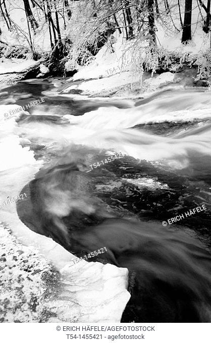 Eistobel Waterfall at Isny / Allgäu