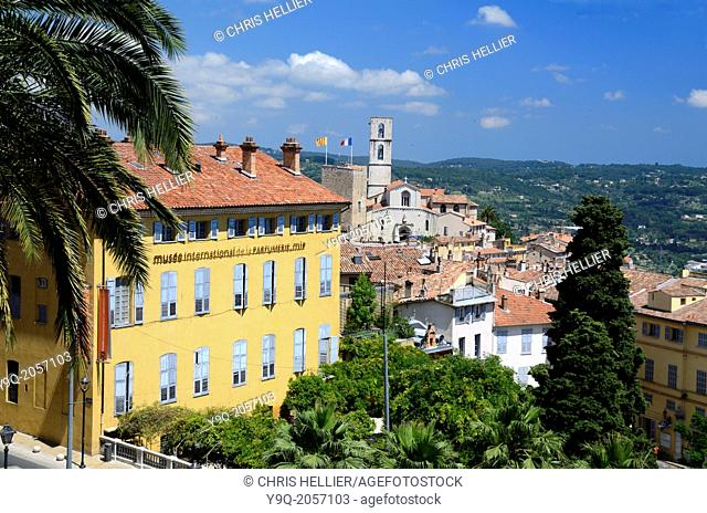 International Perfume Museum & View of the Old Town Grasse Alpes-Maritimes France