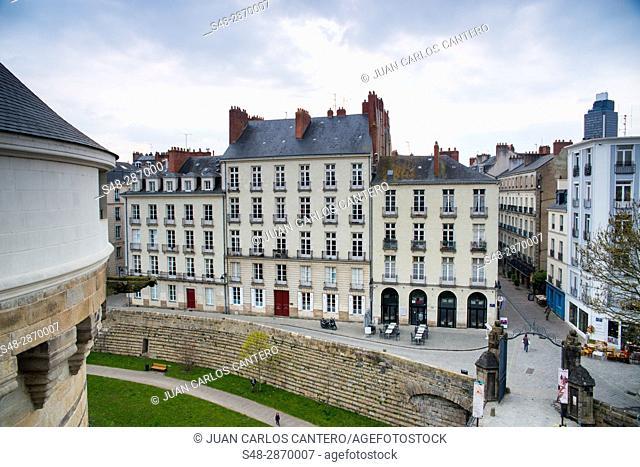 Castillo de los duques de Bretaña. Nantes. Paises del Loira. Francia. Europa