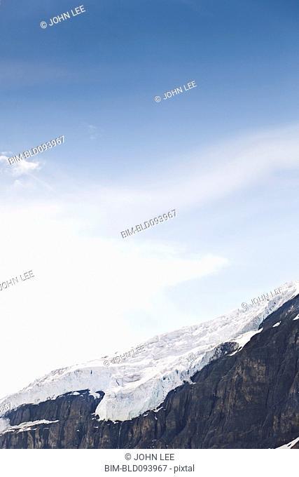 Blue sky over Snow Dome