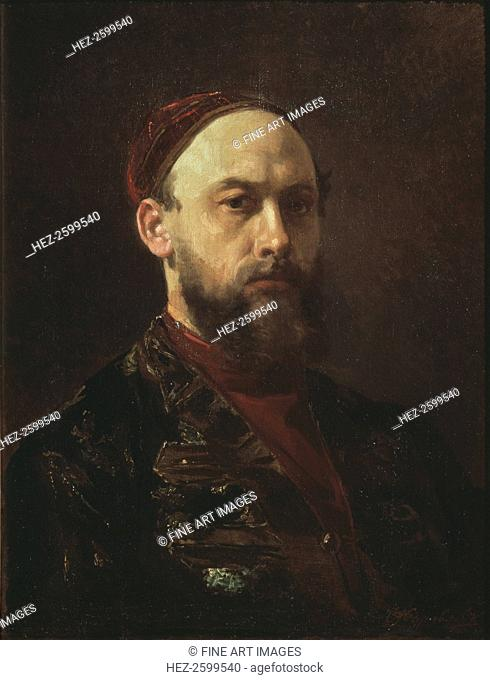 Self-portrait. Found in the collection of the State Tretyakov Gallery, Moscow