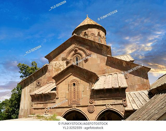 Picture & image of the medieval Sapara Monastery Georgian Orthodox monastery church of St Saba, 13th century, Akhaltsikhe, Georgia