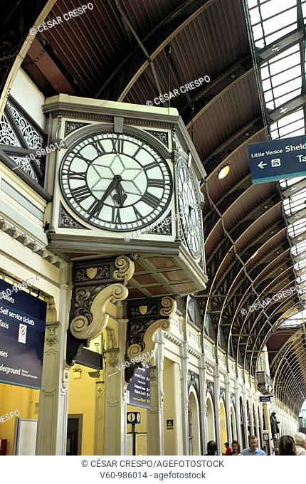 -Classic Clock of Paddington Station- London(Uk)