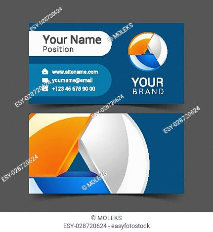 Vector corporate identity template Stock Photos and Images | age