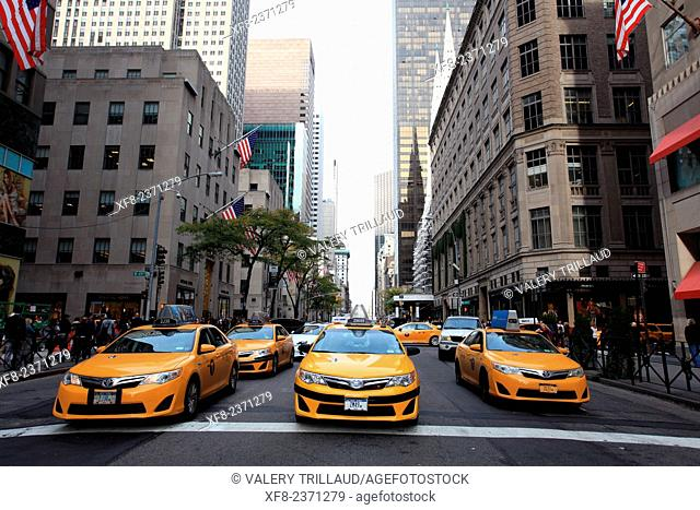The 5th Avenue, Manhattan, New York City, New York, USA