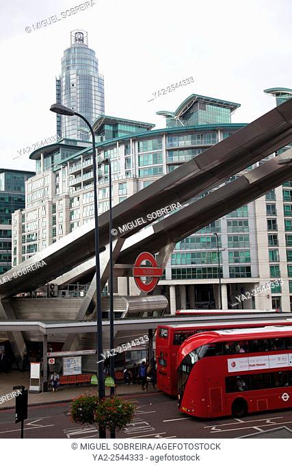 Vauxhall Bus Station - London UK