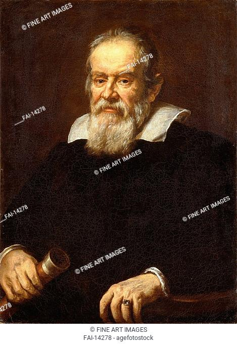 Portrait of Galileo Galilei. Sustermans, Justus (Giusto) (1597-1681). Oil on canvas. Baroque. 1636. National Maritime Museum, Greenwich. Painting