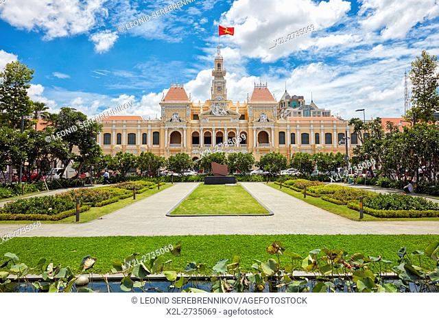 People's Committee Building. Ho Chi Minh City, Vietnam