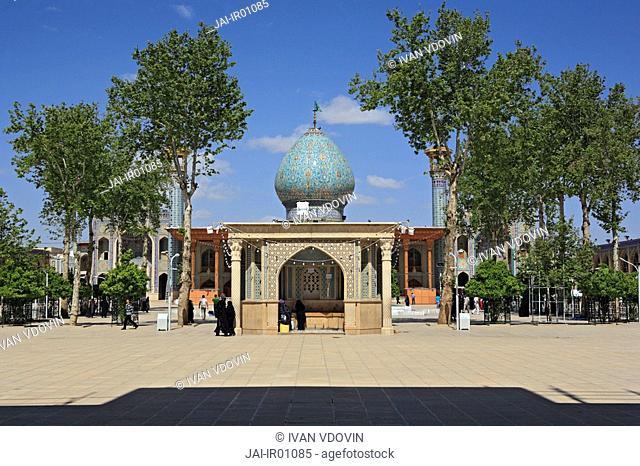 Chah-e Cherag shrine 19 century, Shiraz, province Fars, Iran