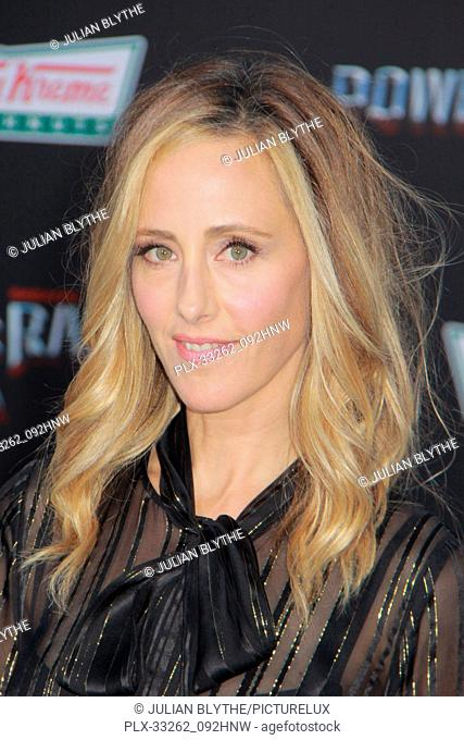 """Kim Raver 03/22/2017 """"""""Power Rangers"""""""" Premiere held at the Westwood Village Theater in Westwood, CA Photo by Julian Blythe / HNW / PictureLux"""