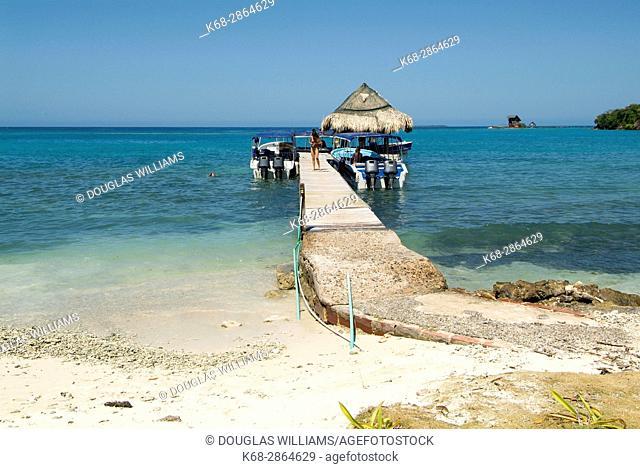 Caribbean Sea near Cartagena, Colombia