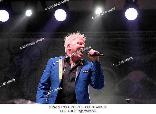 Dexter Holland of The Offspring perfoms at The Sabroso Craft Beer, Taco, and Music Festival on April 8, 2017 in Dana Point, California