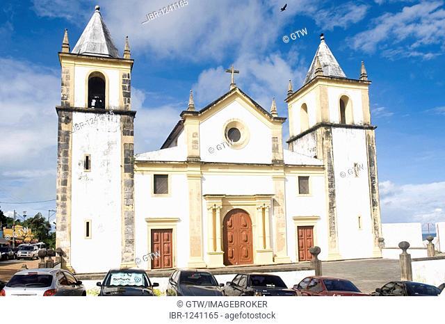 Cathedral Alto da Sé, Olinda, UNESCO World Heritage Site, Pernambuco state, Brazil, South America