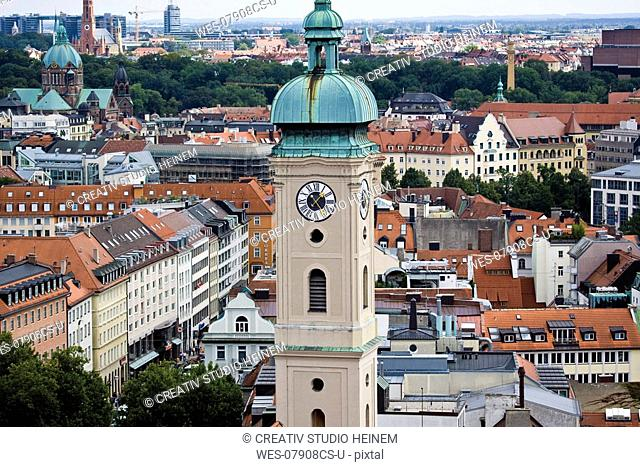 Germany, Bavaria, Munich, Overview